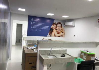 Construção da Odontoclinica Campo Grande