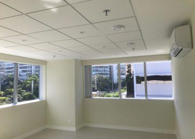 Execução de instalações no Reformar escritório da construtora Disa Catisa