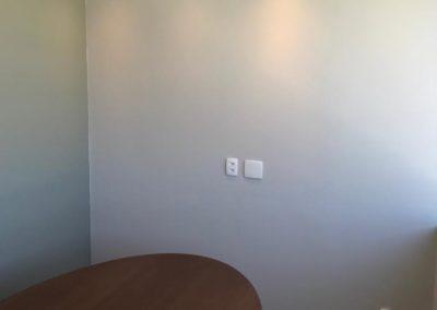 Pintura escritório Helbor - Barra da Tijuca