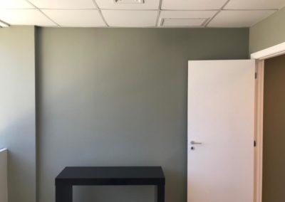 Pintura escritório Helbor Barra da Tijuca